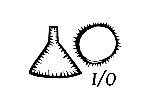 input-output - linosnede Henny van Ham
